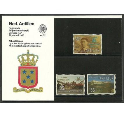 Znaczek Antyle Holenderskie 1988 Mi 627-629 Czyste **
