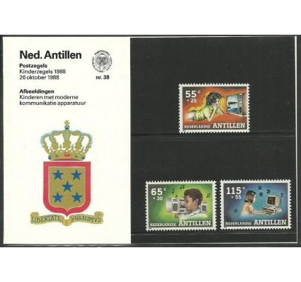 Znaczek Antyle Holenderskie 1988 Mi 646-648 Czyste **