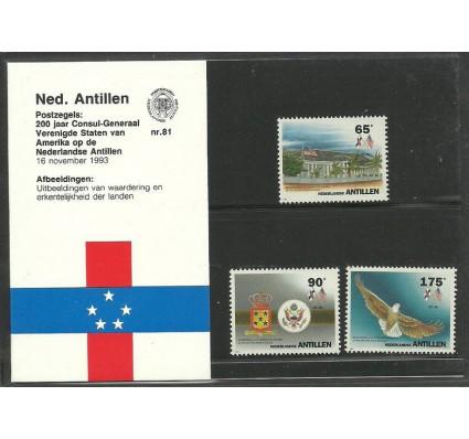 Znaczek Antyle Holenderskie 1993 Mi 789-791 Czyste **