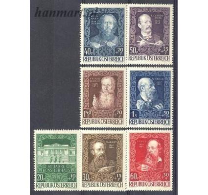 Znaczek Austria 1948 Mi 878-884 Czyste **