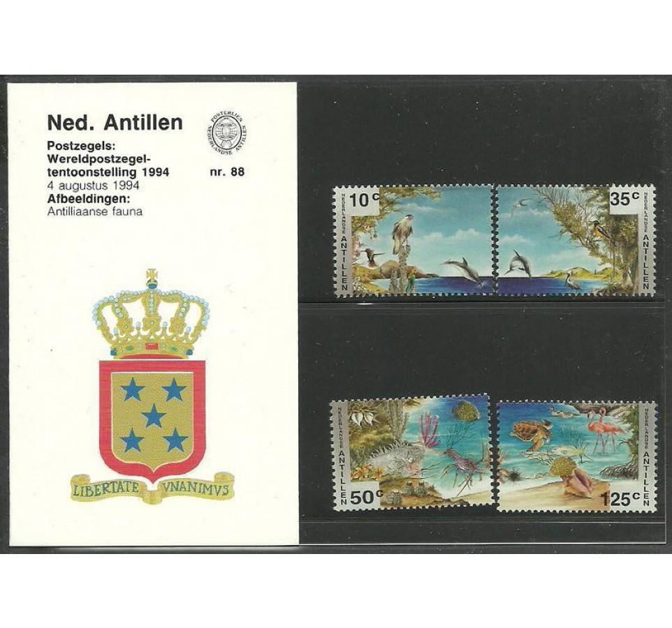Antyle Holenderskie 1994 Mi 812-815 Czyste **