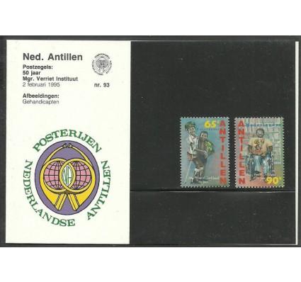 Znaczek Antyle Holenderskie 1995 Mi 827-828 Czyste **