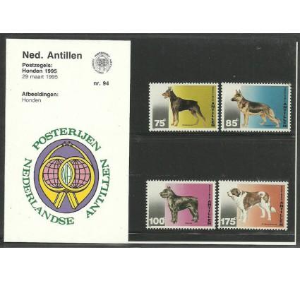 Znaczek Antyle Holenderskie 1995 Mi 829-832 Czyste **