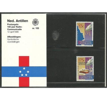 Znaczek Antyle Holenderskie 1996 Mi 862-863 Czyste **