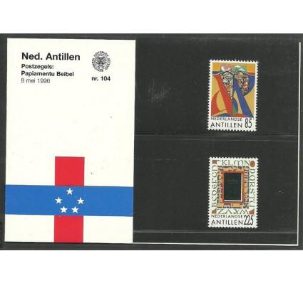 Znaczek Antyle Holenderskie 1996 Mi 864-865 Czyste **
