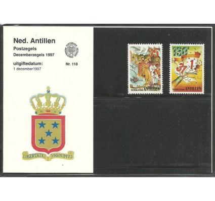 Znaczek Antyle Holenderskie 1997 Mi 941-942 Czyste **