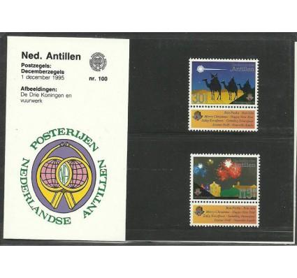 Znaczek Antyle Holenderskie 1995 Mi zf 855-856 Czyste **