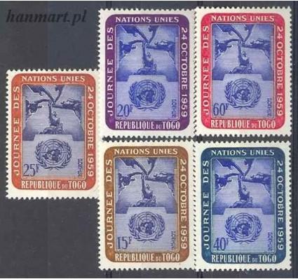 Togo 1959 Mi 271-275 Czyste **