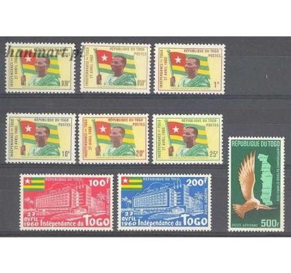 Znaczek Togo 1960 Mi 285-293 Czyste **