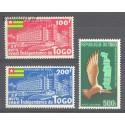 Togo 1960 Mi 291-293 Czyste **
