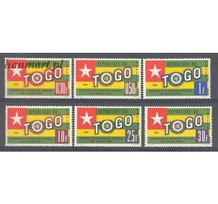 Togo 1961 Mi 298-303 Czyste **