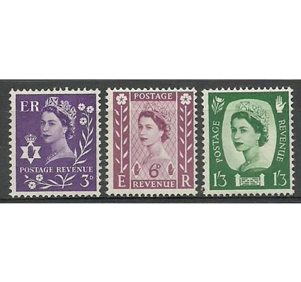 Znaczek Irlandia Północna 1958 Mi NIR1-3x Czyste **