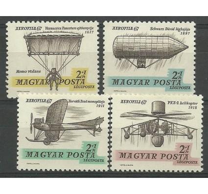Znaczek Węgry 1967 Mi 2317-2320I Czyste **