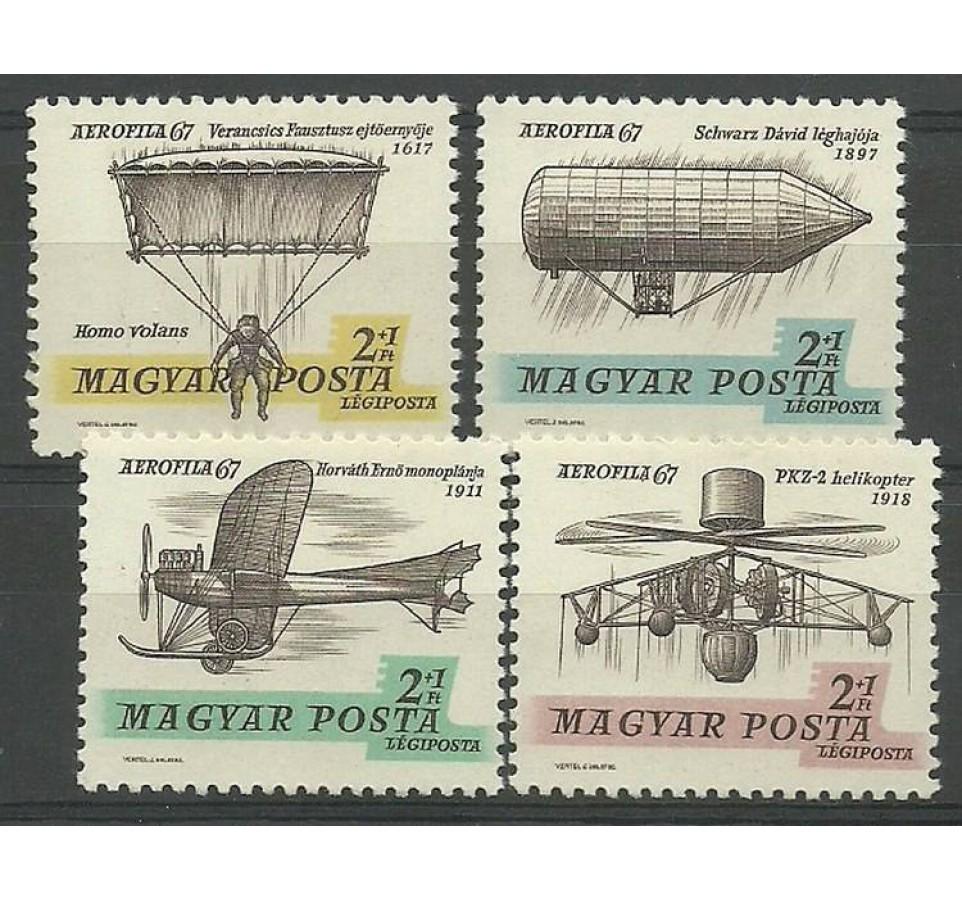 Węgry 1967 Mi 2317-2320I Czyste **
