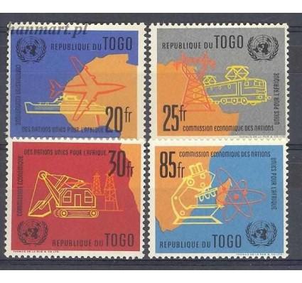 Togo 1961 Mi 325-328 Czyste **