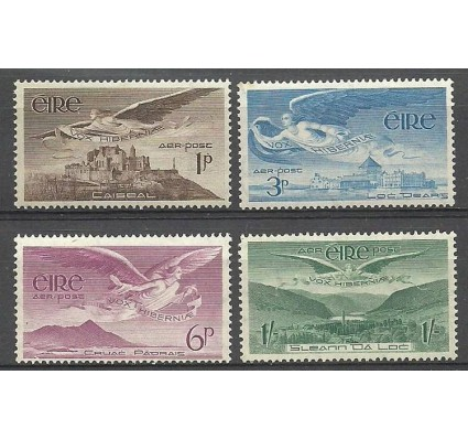 Znaczek Irlandia 1948 Mi 102-105 Czyste **