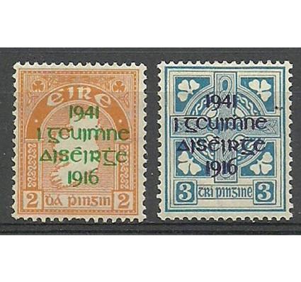 Znaczek Irlandia 1941 Mi 83-84 Z podlepką *