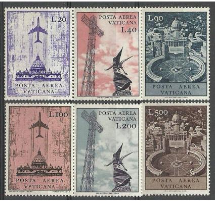 Znaczek Watykan 1967 Mi 517-522 Czyste **