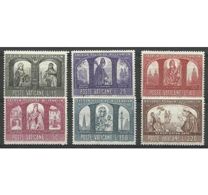 Znaczek Watykan 1966 Mi 502-507 Czyste **