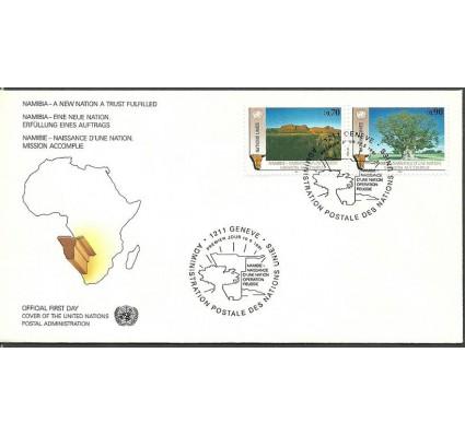 Znaczek Narody Zjednoczone Genewa 1991 Mi 198-199 FDC