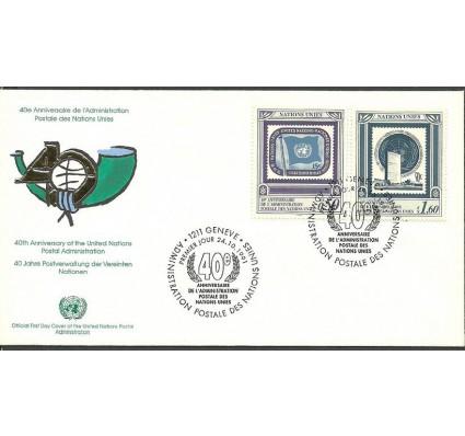 Znaczek Narody Zjednoczone Genewa 1991 Mi 206-207 FDC