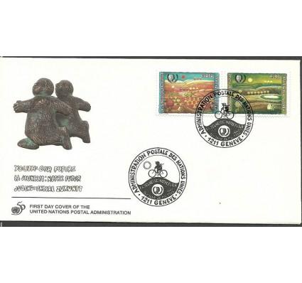 Znaczek Narody Zjednoczone Genewa 1995 Mi 267-268 FDC