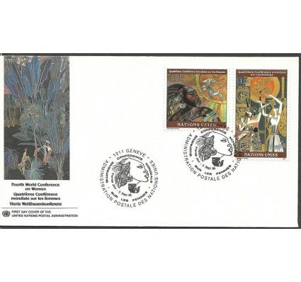 Znaczek Narody Zjednoczone Genewa 1995 Mi 271-272 FDC