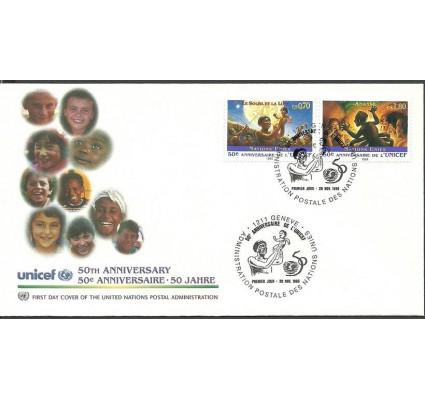 Znaczek Narody Zjednoczone Genewa 1996 Mi 301-302 FDC