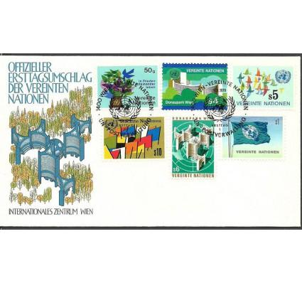 Znaczek Narody Zjednoczone Wiedeń 1979 Mi 1-6 FDC