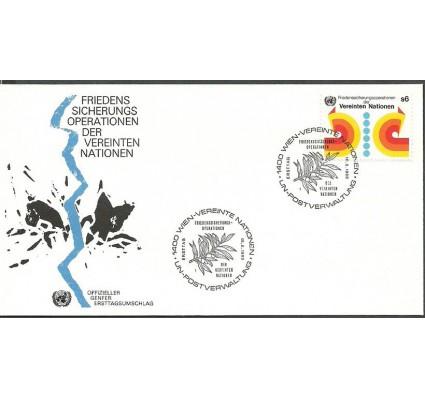 Znaczek Narody Zjednoczone Wiedeń 1980 Mi 11 FDC