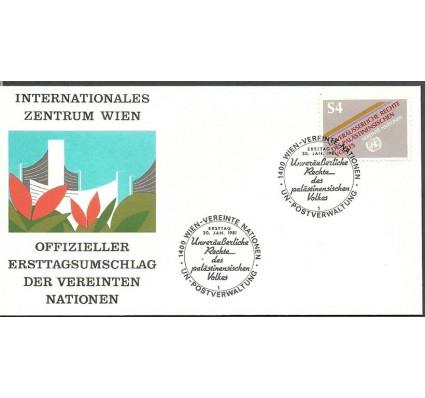Znaczek Narody Zjednoczone Wiedeń 1981 Mi 16 FDC