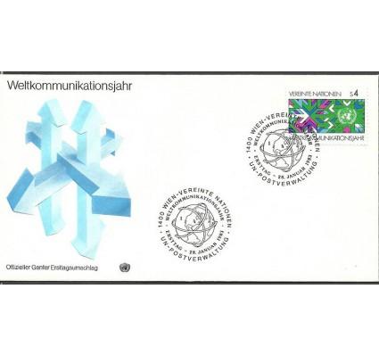 Znaczek Narody Zjednoczone Wiedeń 1983 Mi 29 FDC