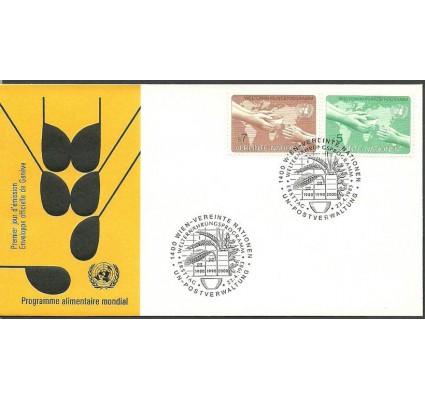 Znaczek Narody Zjednoczone Wiedeń 1983 Mi 32-33 FDC