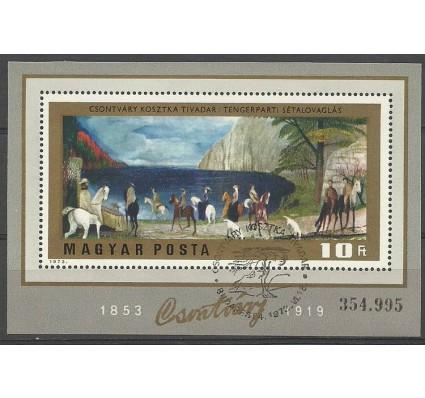 Znaczek Węgry 1973 Mi bl 98 Stemplowane