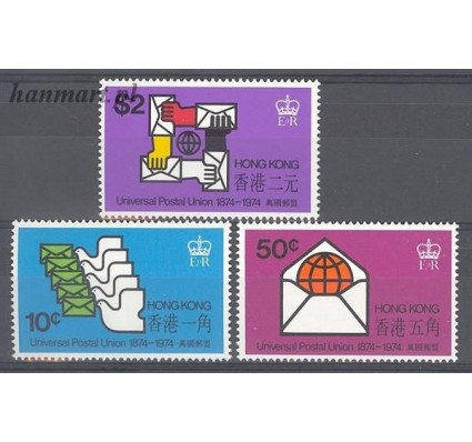 Hong Kong 1974 Mi 292-294 Czyste **
