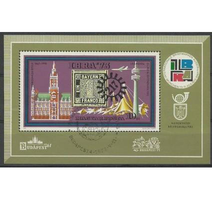 Znaczek Węgry 1973 Mi bl 97 Stemplowane