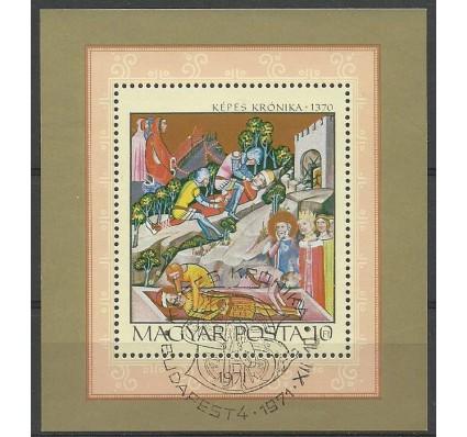 Znaczek Węgry 1971 Mi bl 85 Stemplowane