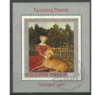 Znaczek Węgry 1970 Mi bl 78 Stemplowane