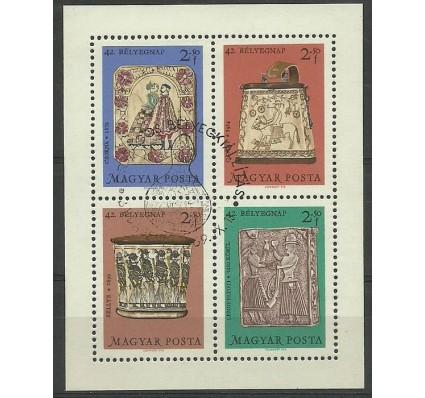 Znaczek Węgry 1969 Mi bl 73 Stemplowane