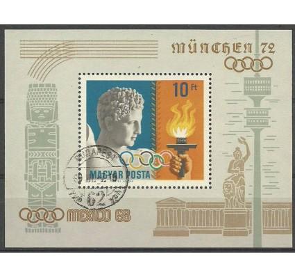 Znaczek Węgry 1969 Mi bl 69 Stemplowane