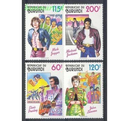 Burundi 1993 Mi 1793-1796 Czyste **