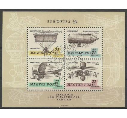 Znaczek Węgry 1967 Mi bl 57 Stemplowane