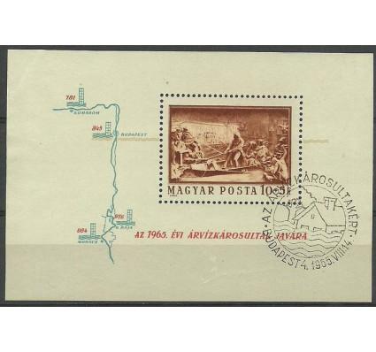 Znaczek Węgry 1965 Mi bl 49 Stemplowane