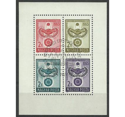 Znaczek Węgry 1965 Mi bl 48 Stemplowane