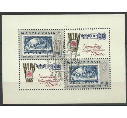 Znaczek Węgry 1965 Mi bl 47 Stemplowane