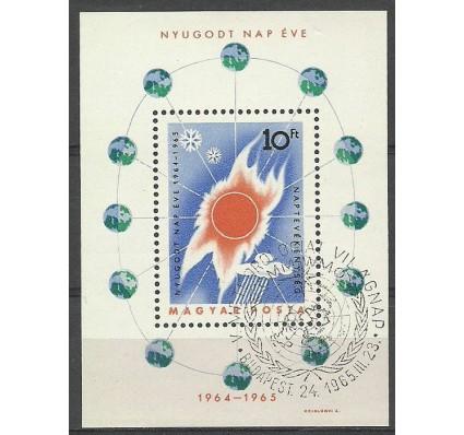 Znaczek Węgry 1965 Mi bl 46 Stemplowane