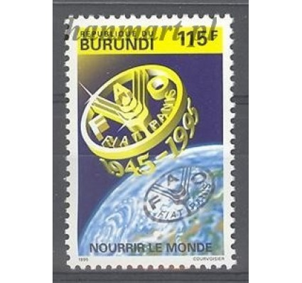 Burundi 1995 Mi 1805 Czyste **