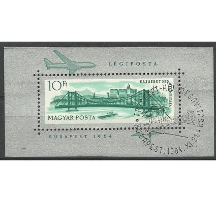 Znaczek Węgry 1964 Mi bl 45 Stemplowane