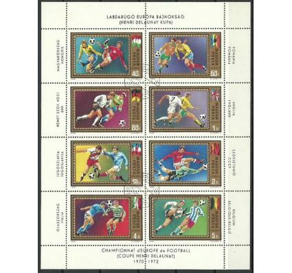 Znaczek Węgry 1972 Mi ark 2751-2758 Stemplowane
