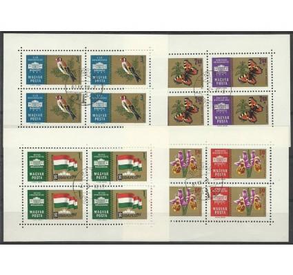 Znaczek Węgry 1961 Mi ark 1783-1786 Stemplowane